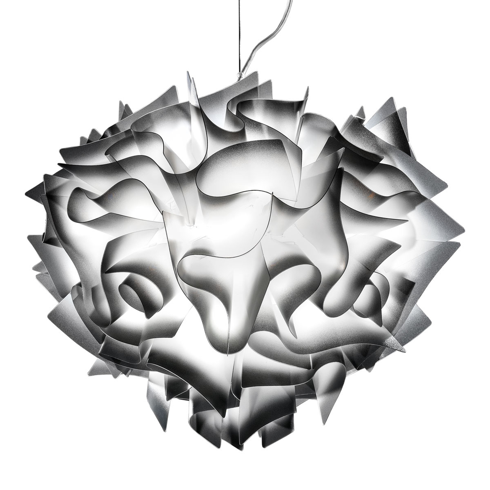 Slamp Veli - lampa wisząca Ø 42cm antracyt