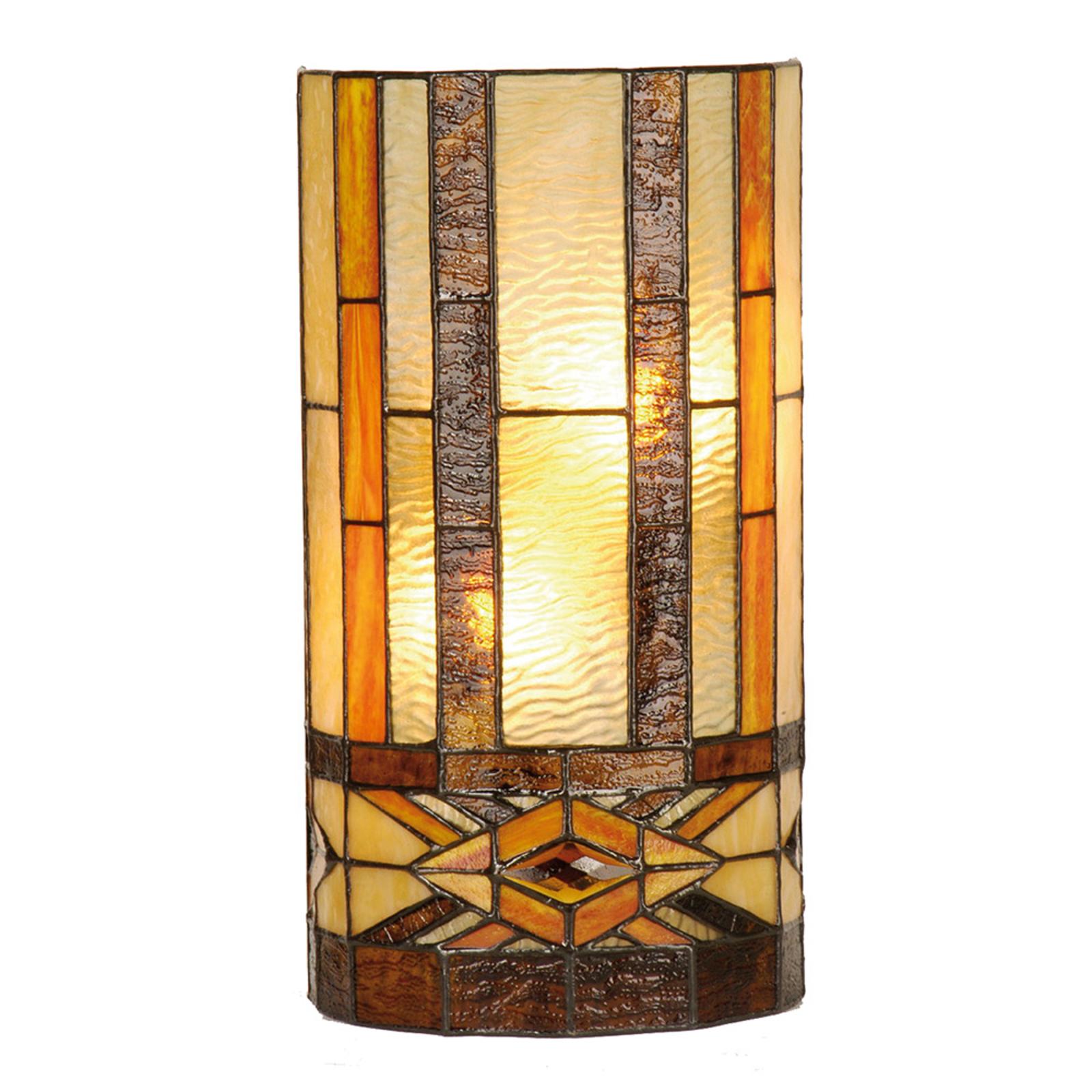 Miwa - wandlamp in Tiffany-stijl