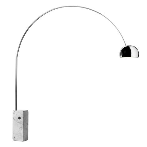 Lampadaire arqué révolutionnaire LED ARCO