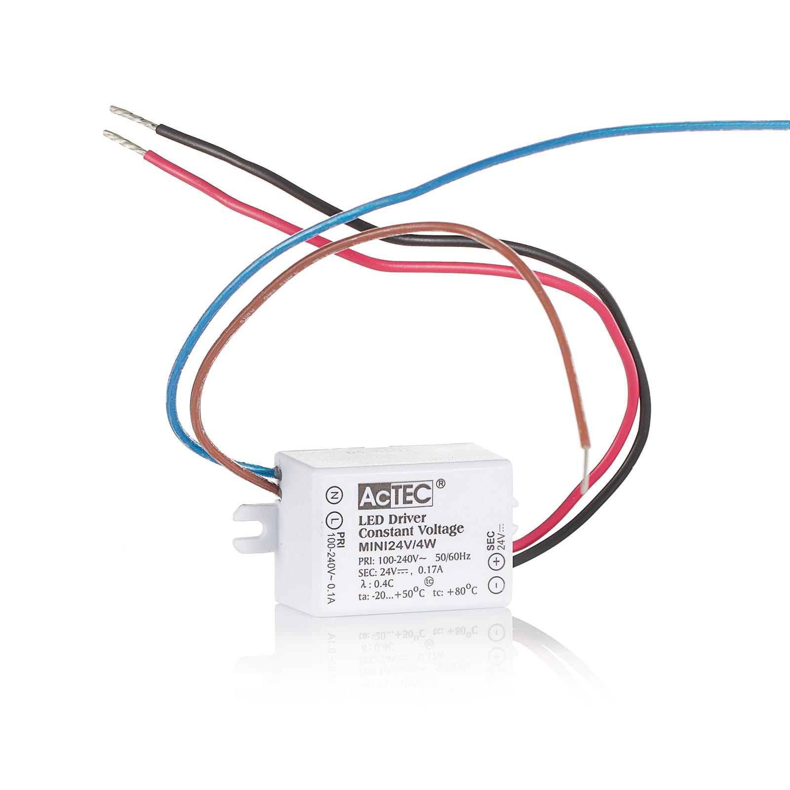 AcTEC Mini LED-Treiber CV 24V, 4W, IP65