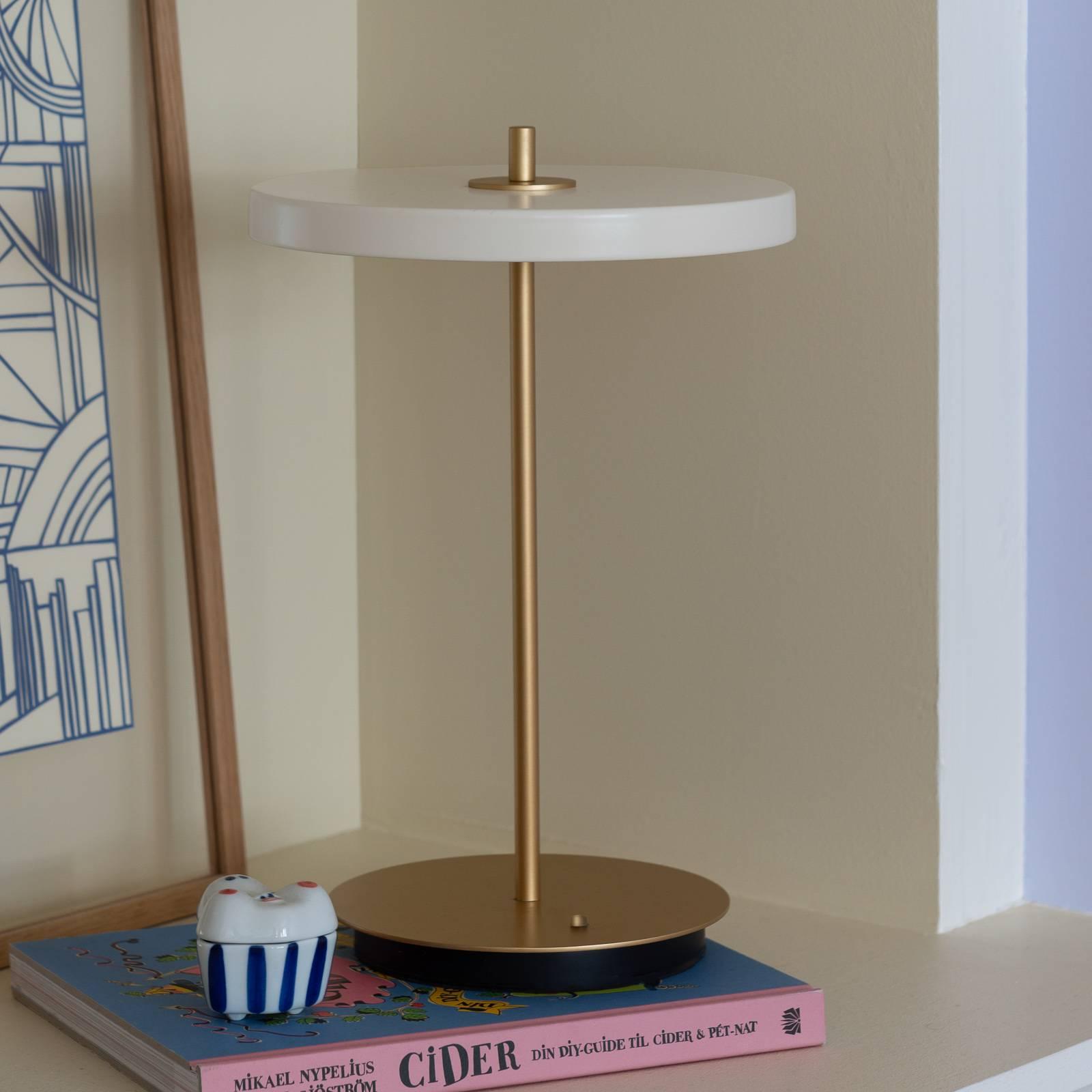 UMAGE lampada LED da tavolo Asteria move bianco