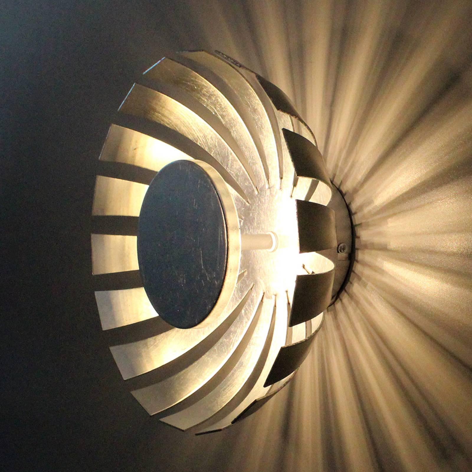 Applique LED Flare Small, argenté