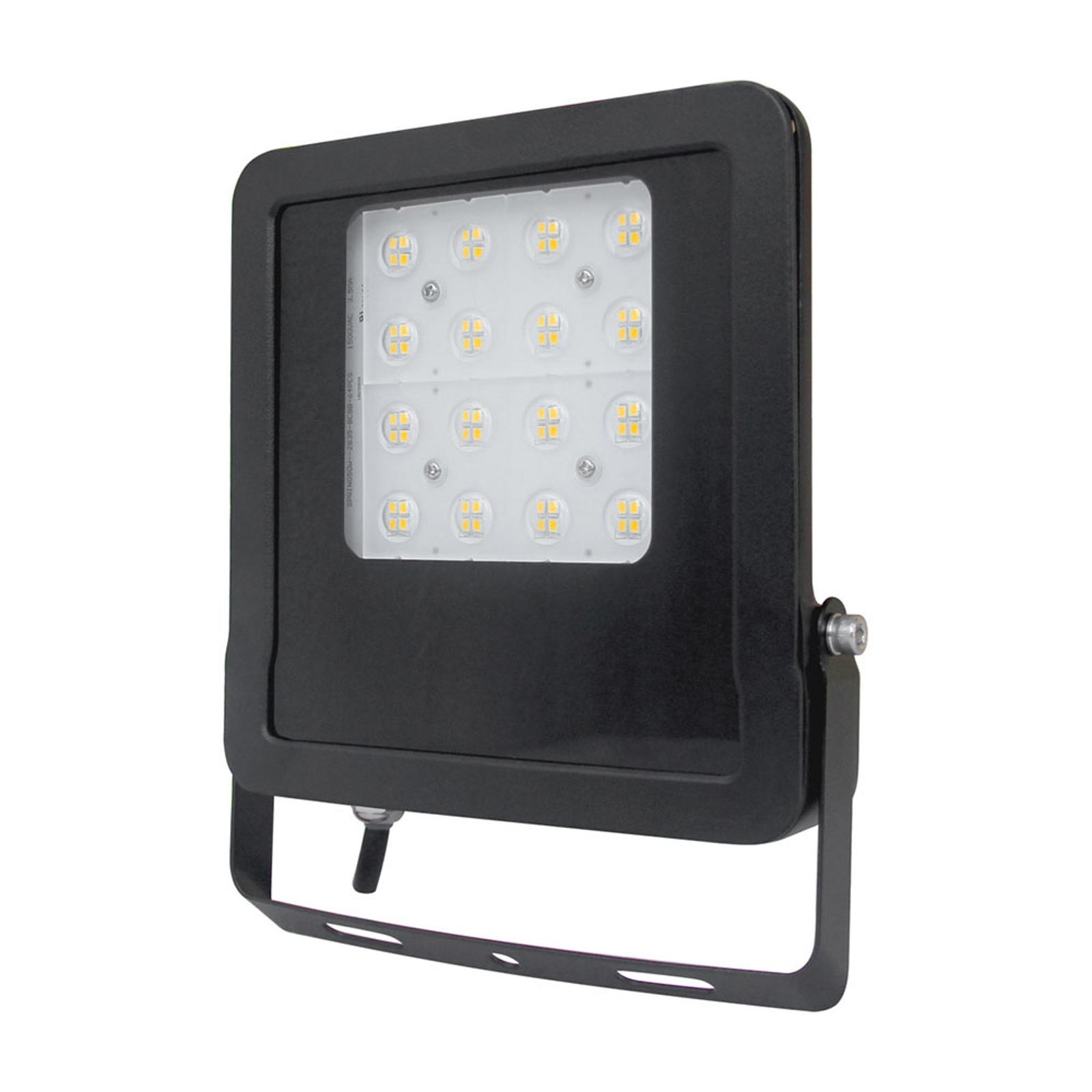EVN Panthera utendørs LED-spot IP65 30 W 3 000K
