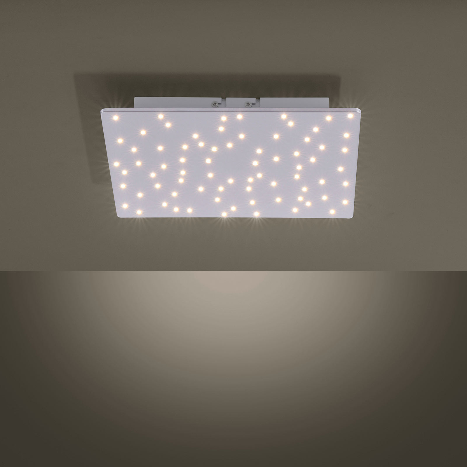 Lampa sufitowa LED Sparkle tunable white, 30x30 cm