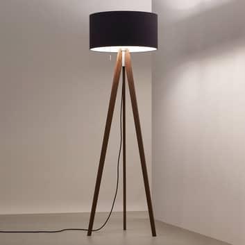 LED-golvlampa Vivaa Free Wood