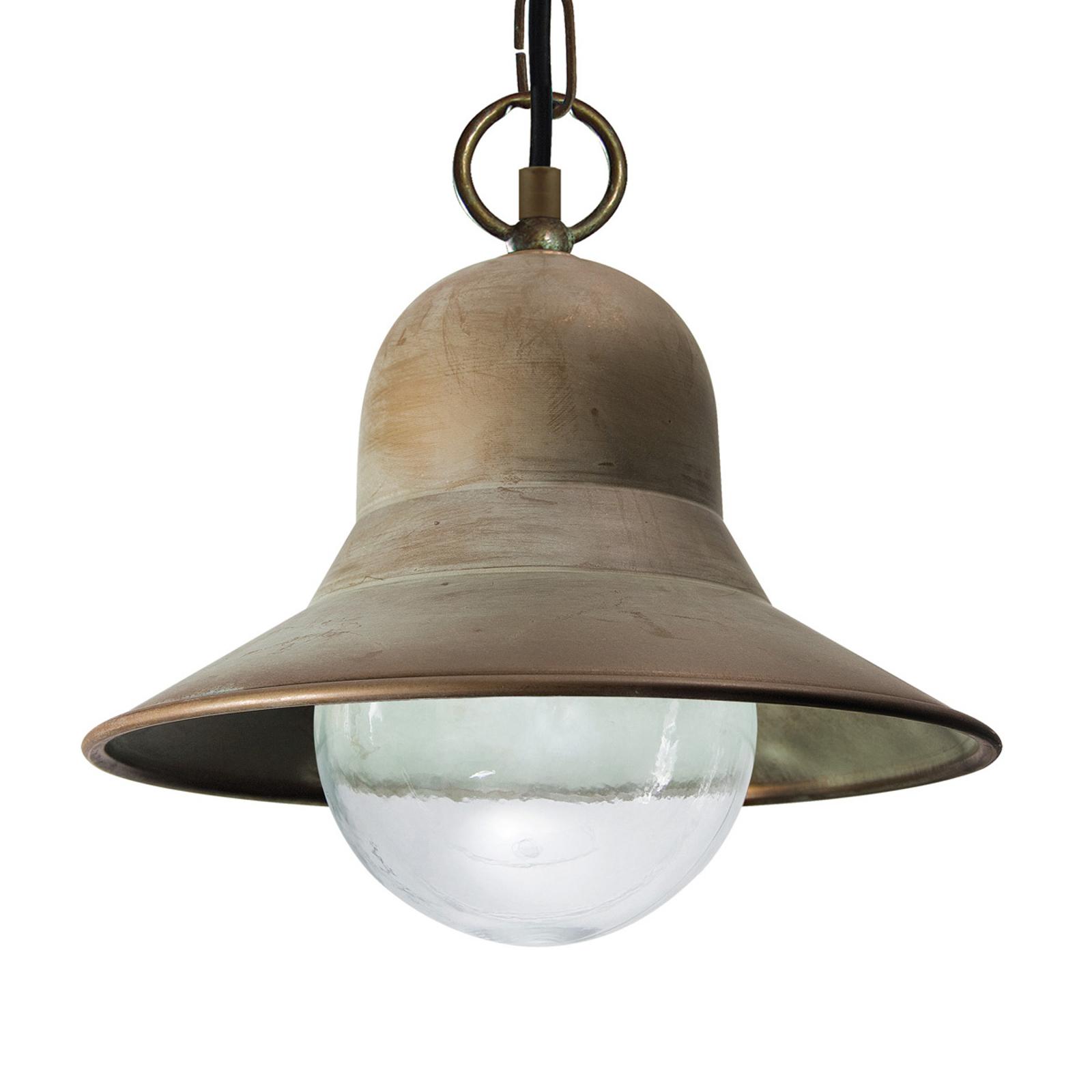 Saltvandsresistent hængelampe Marquesa t. udendørs