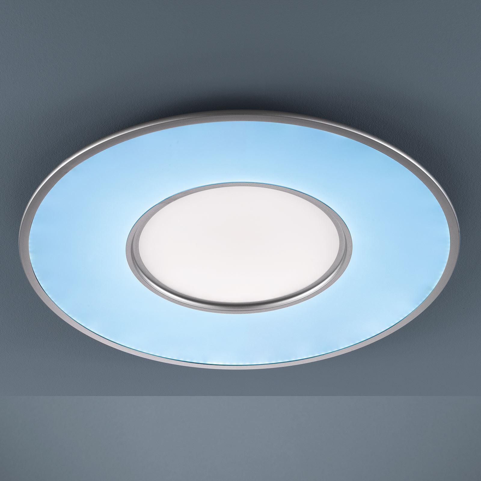 LED-Deckenleuchte Mia mit CCT und Fernbedienung