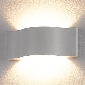 Effektfull Jace utendørs LED-lampe i hvit