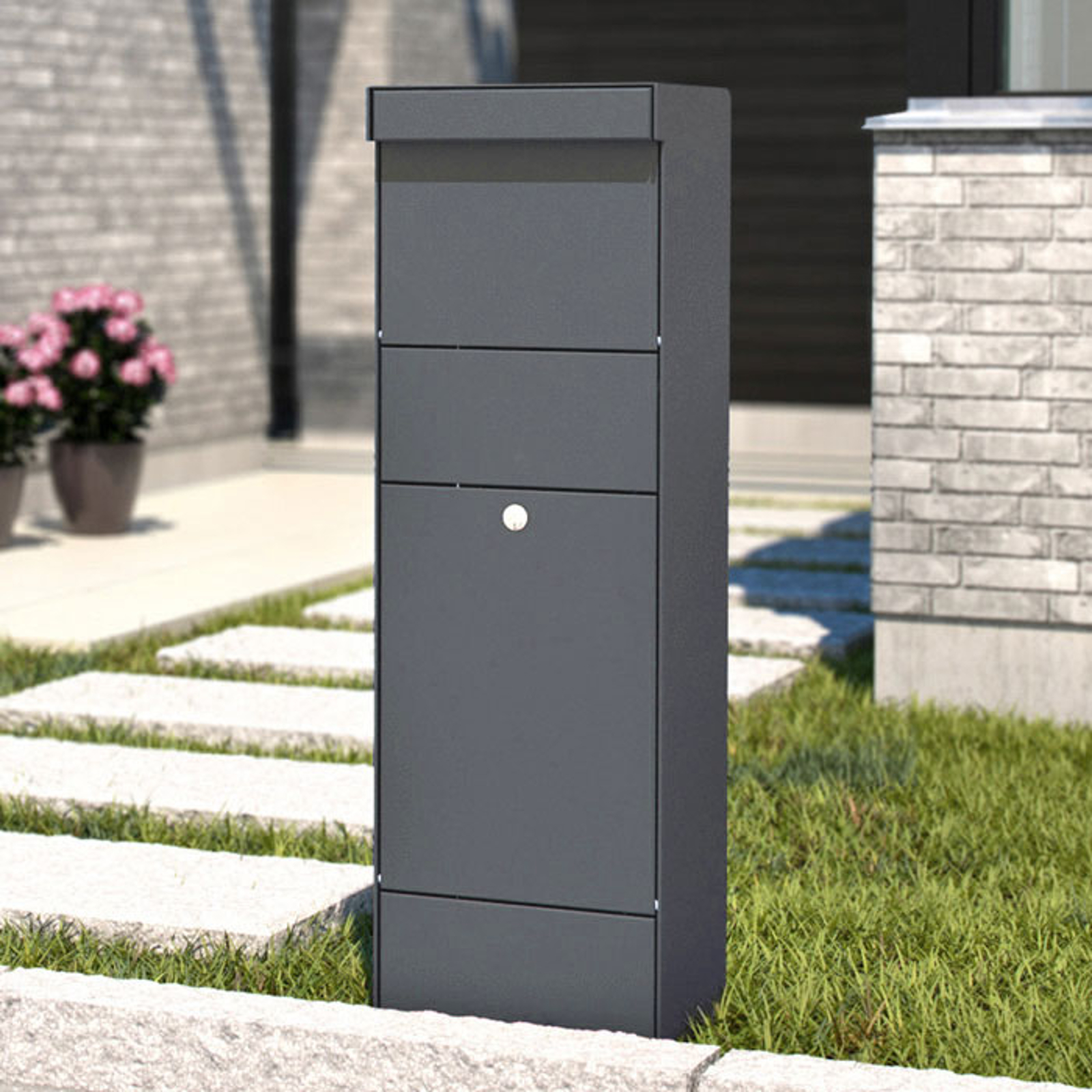 Stand letterbox Parcel anthracite_1045224_1