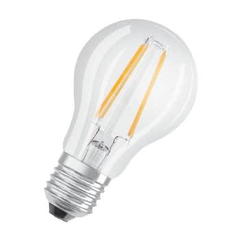 OSRAM LED-Lampe E27 6,5W 840 klar Tageslichtsensor
