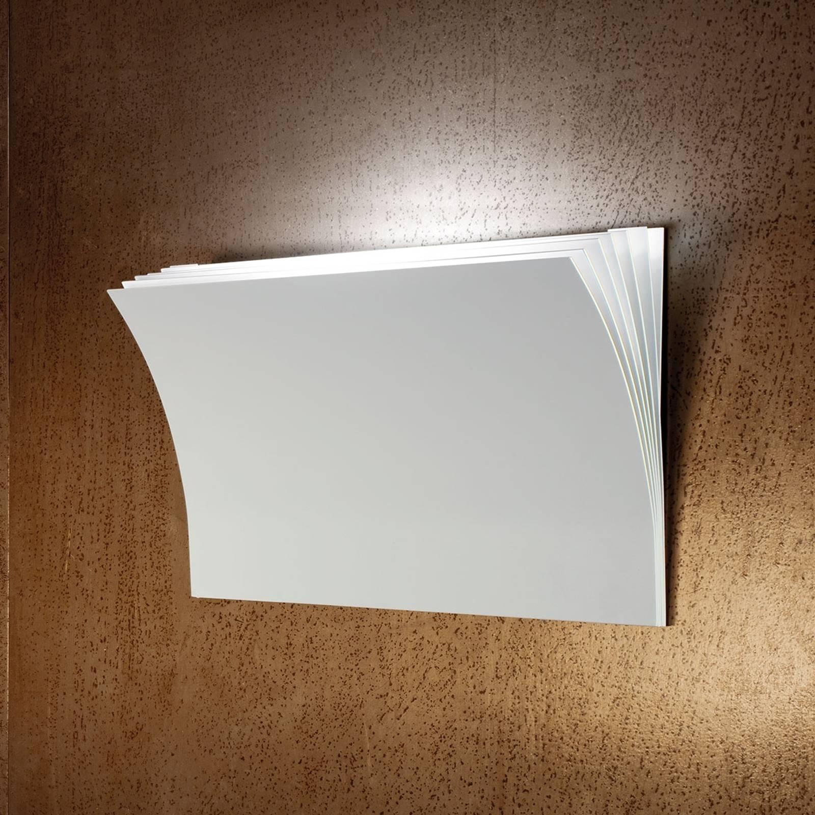 Axolight Polia LED-Wandleuchte in Weiß 45cm