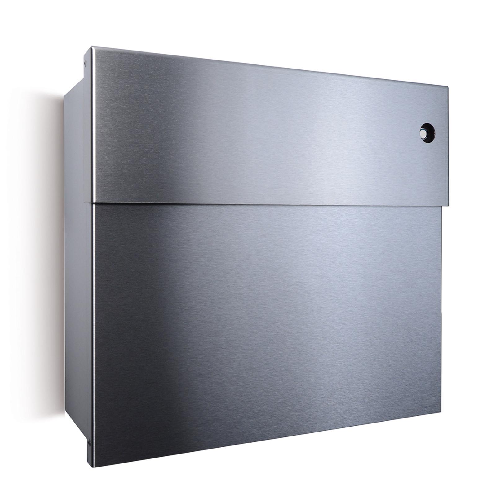 Letterman IV letterbox, blue bell, stainless steel_1057148_1