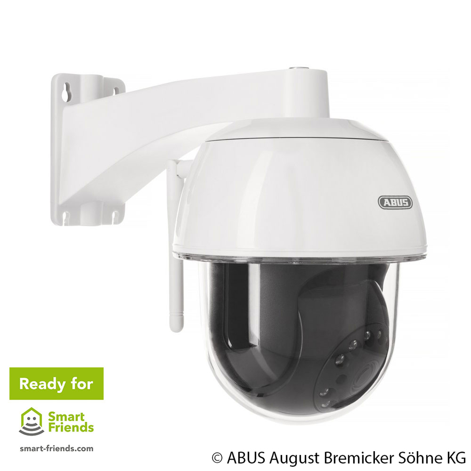 ABUS Smart Security WIFI caméra pivot/inclinable