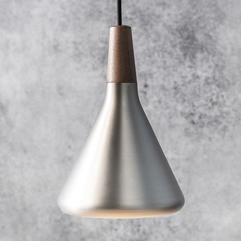Metallfärgad taklampa Float, 18 cm