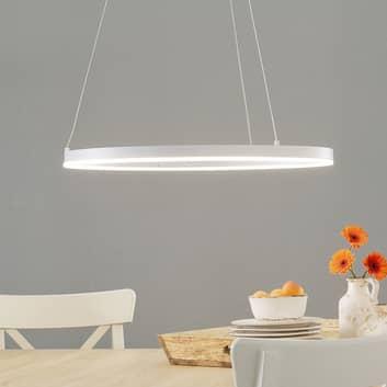 LED-Pendellampe Vaasa, dimmbar, weiß