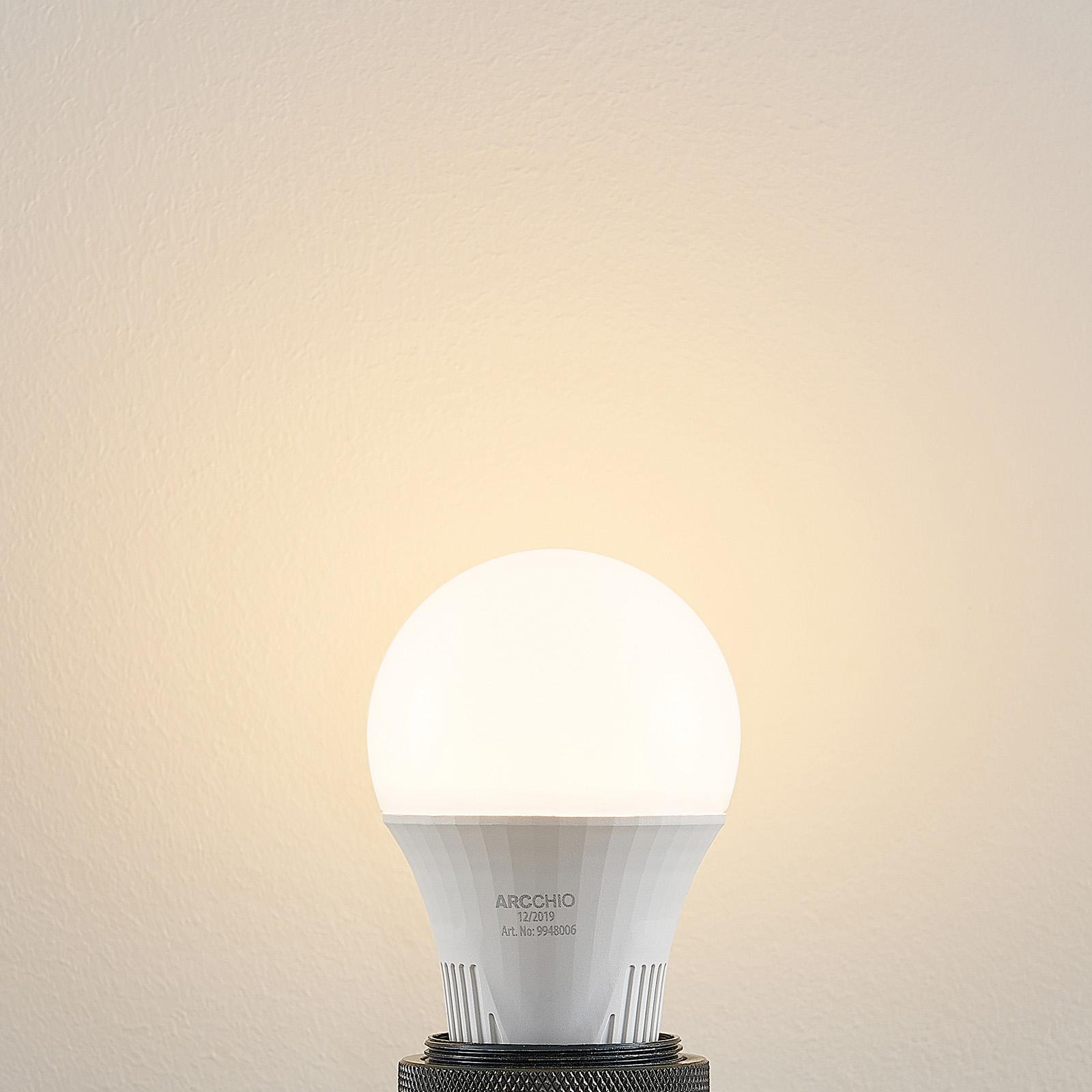 LED-lampa E27 A60 9 W 3 000 K dimbar i 3 steg