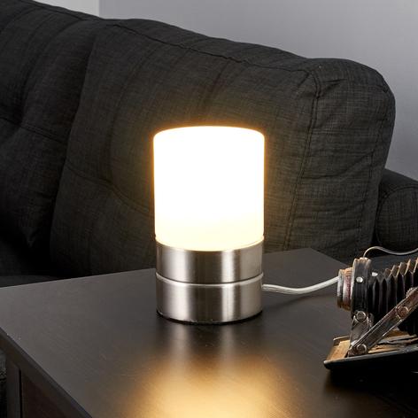 Cylinderformad LED-bordslampa Sevda