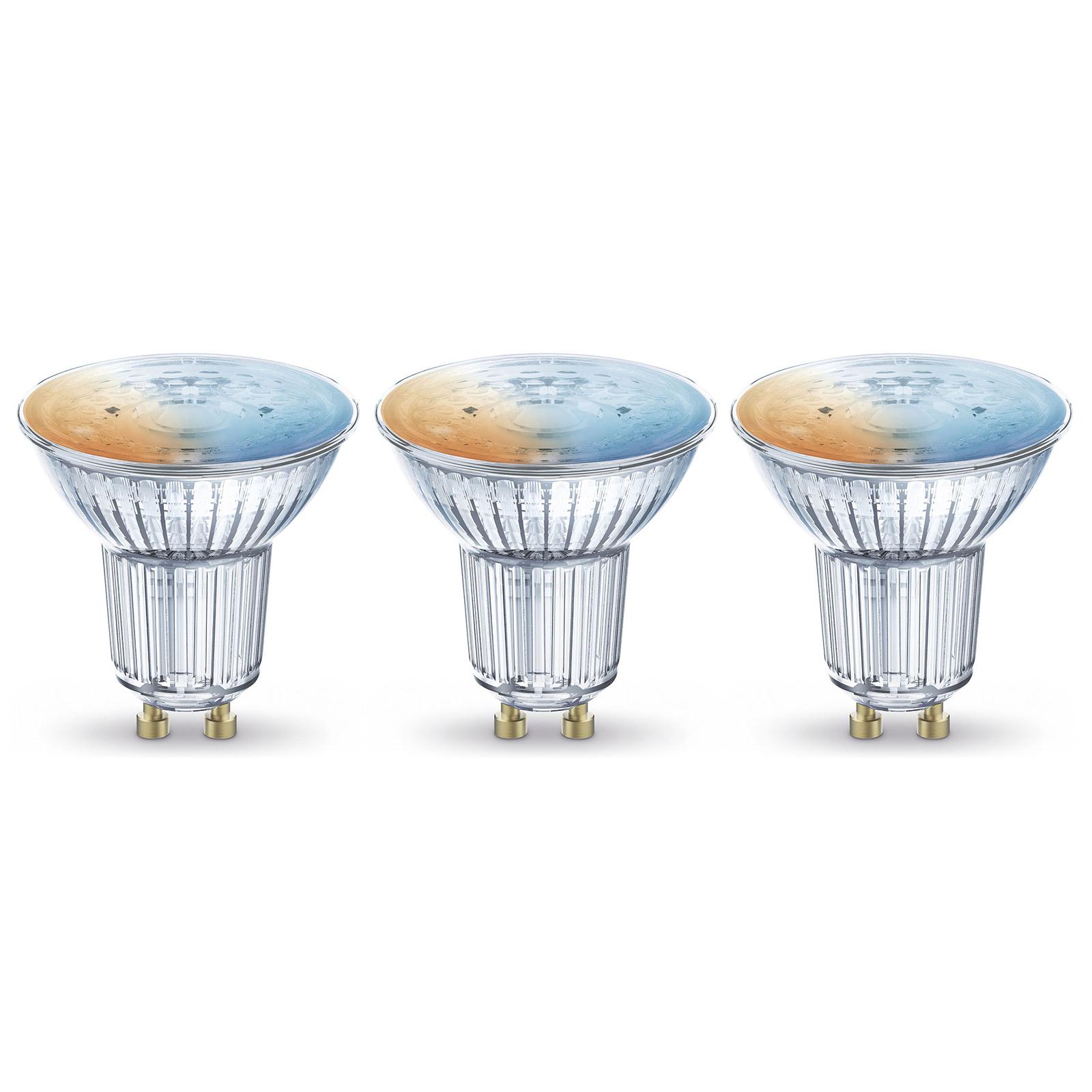 LEDVANCE SMART+ WiFi reflektor GU10 5W 45° 3szt.