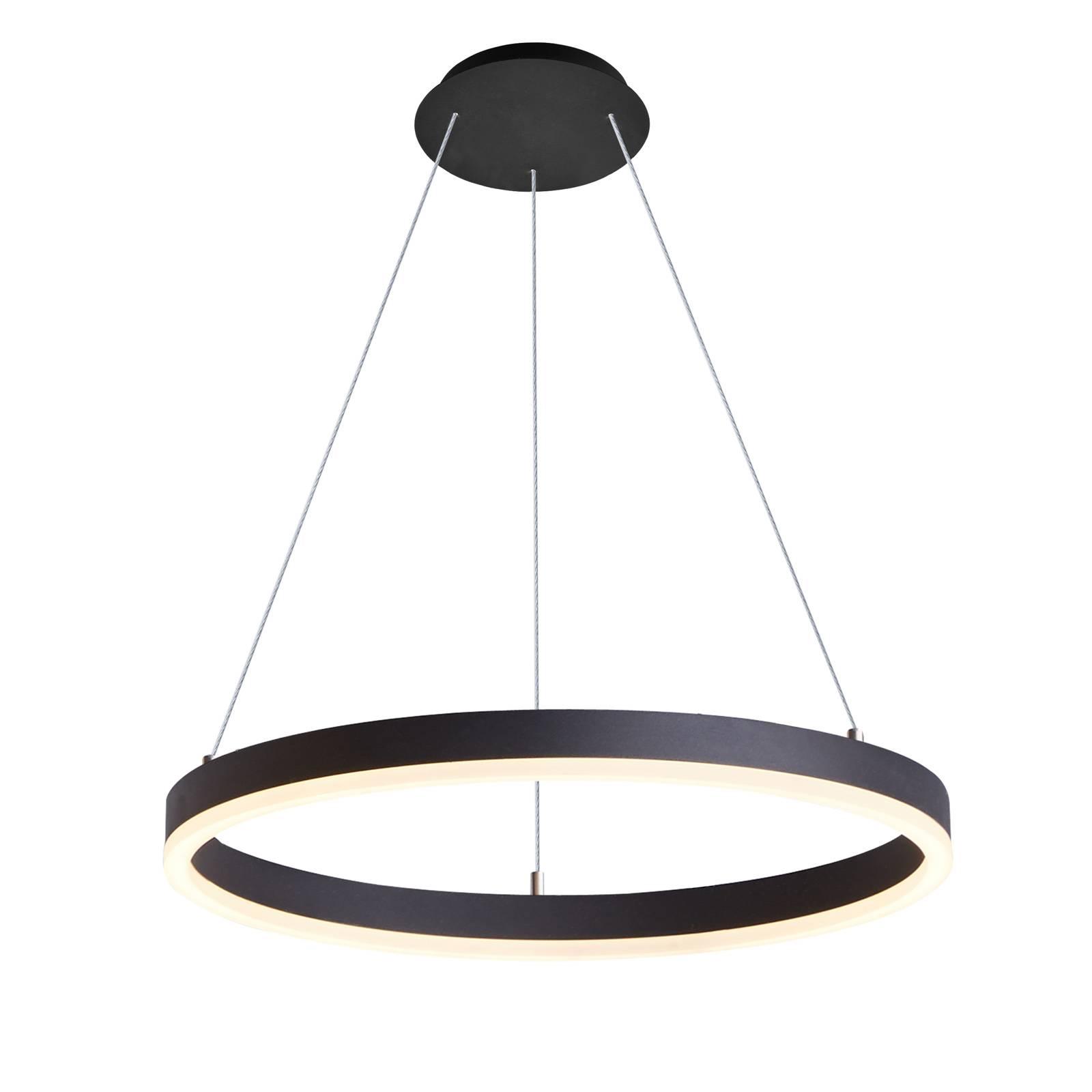Arcchio Albiona suspension LED, 1 anneau, 60cm