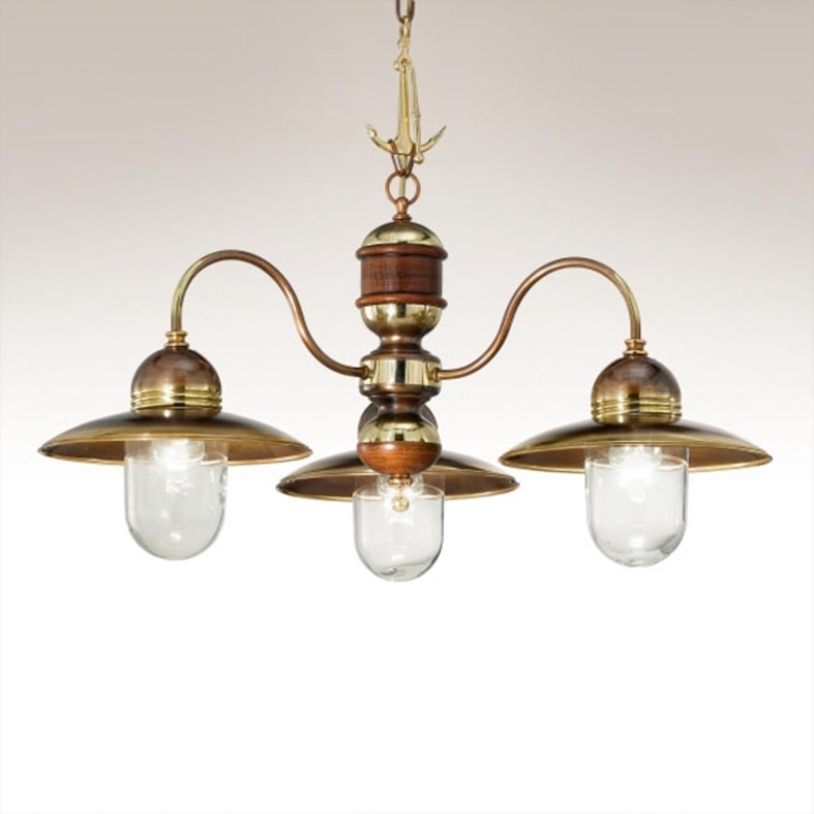 Lámpara colgante de 3 luces Faro