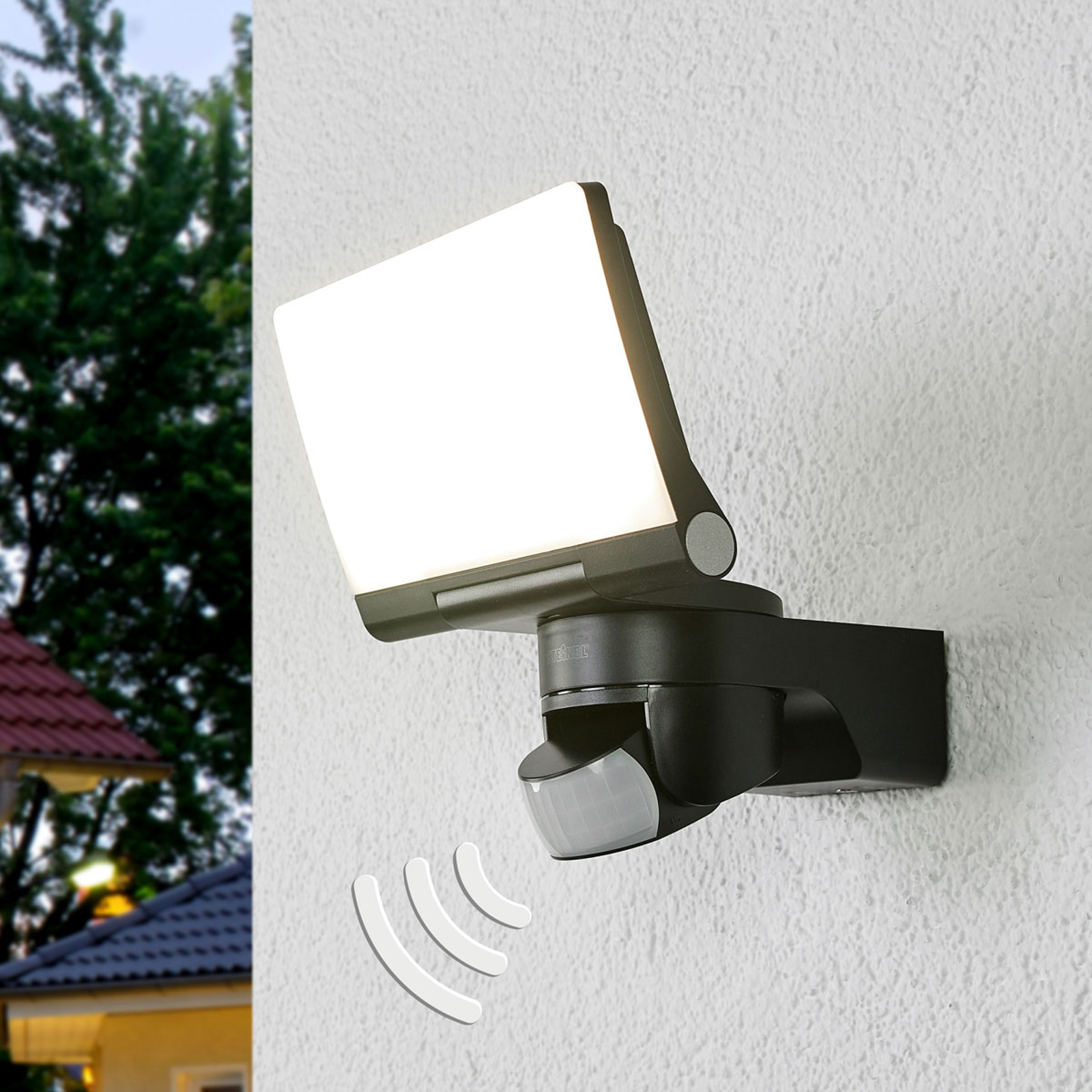 STEINEL XLED Home 2 sensor utespot, svart