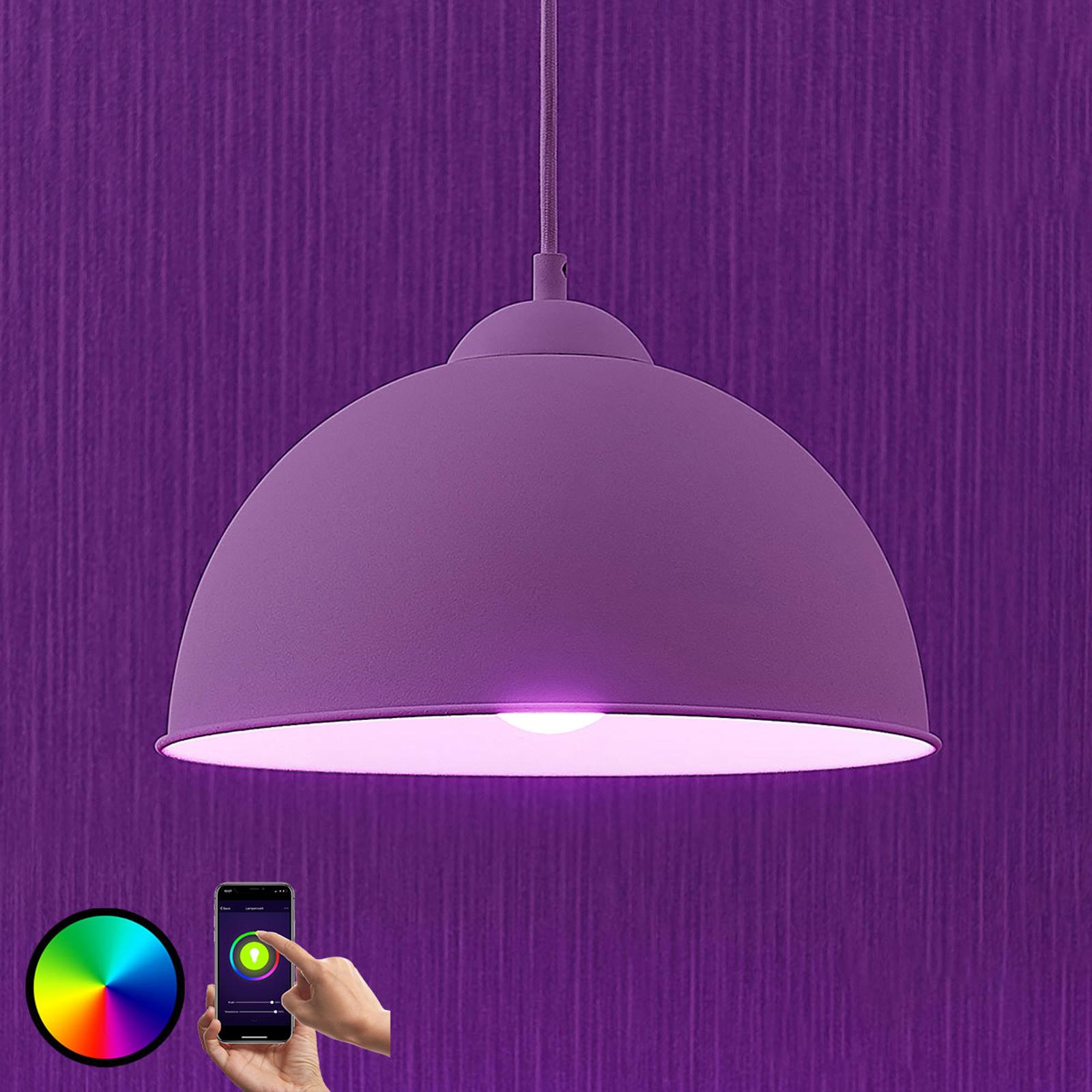 Lampa wisząca LED Bowl WiFi 31cm biała