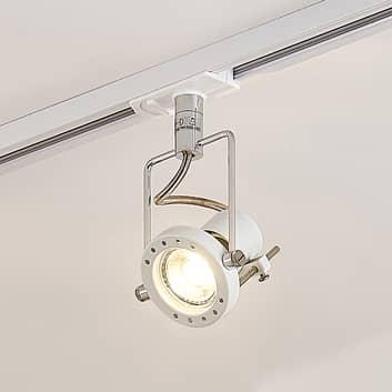 Spot LED Arika système sur rail monophasé, blanc