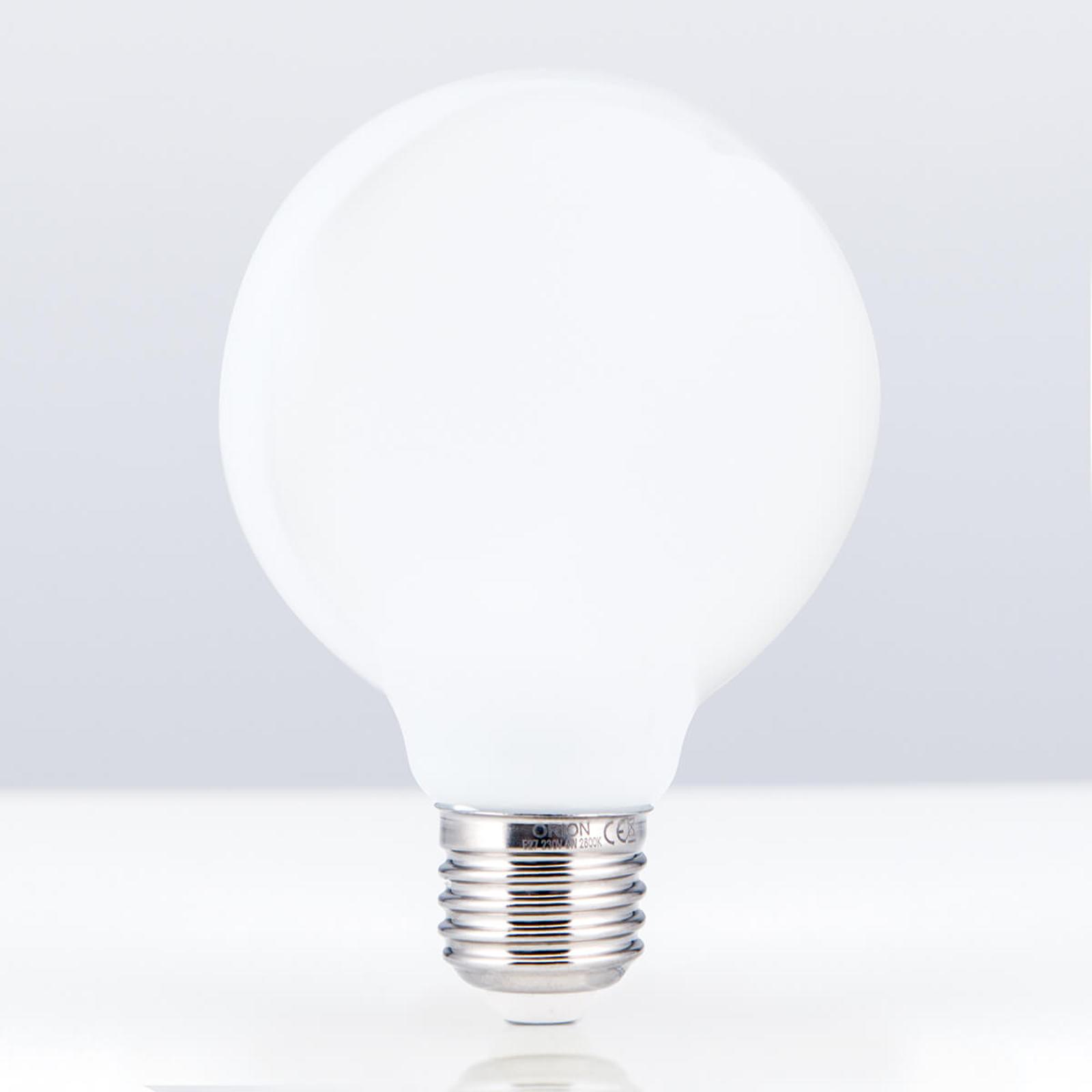 Ampoule globe LED E27 8W 828 G95opal