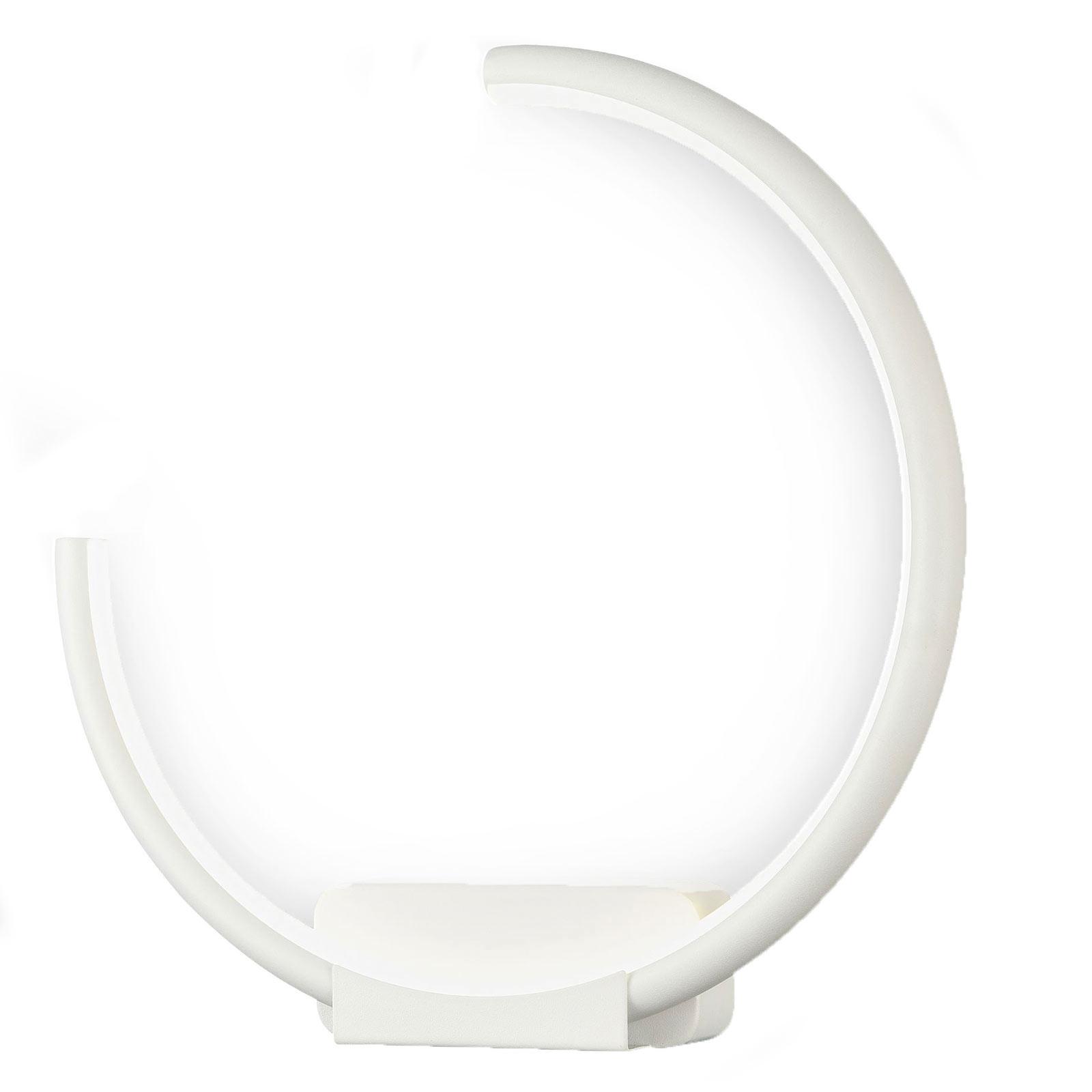 Applique LED Nola, anneau ouvert