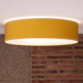 Doce L taklampe, Ø 40 cm, sennepsgul