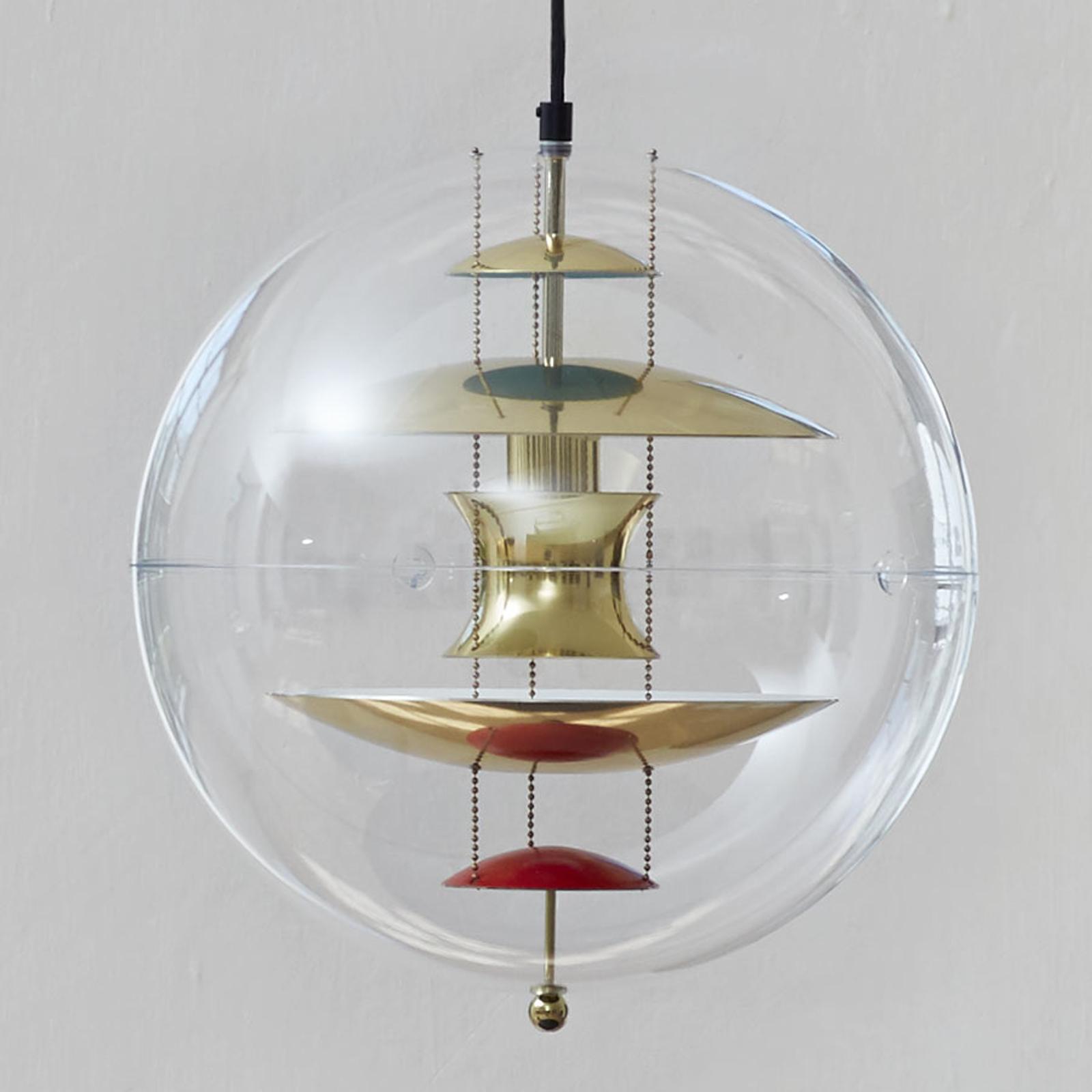 VERPAN VP Globe lampa wisząca, mosiężna