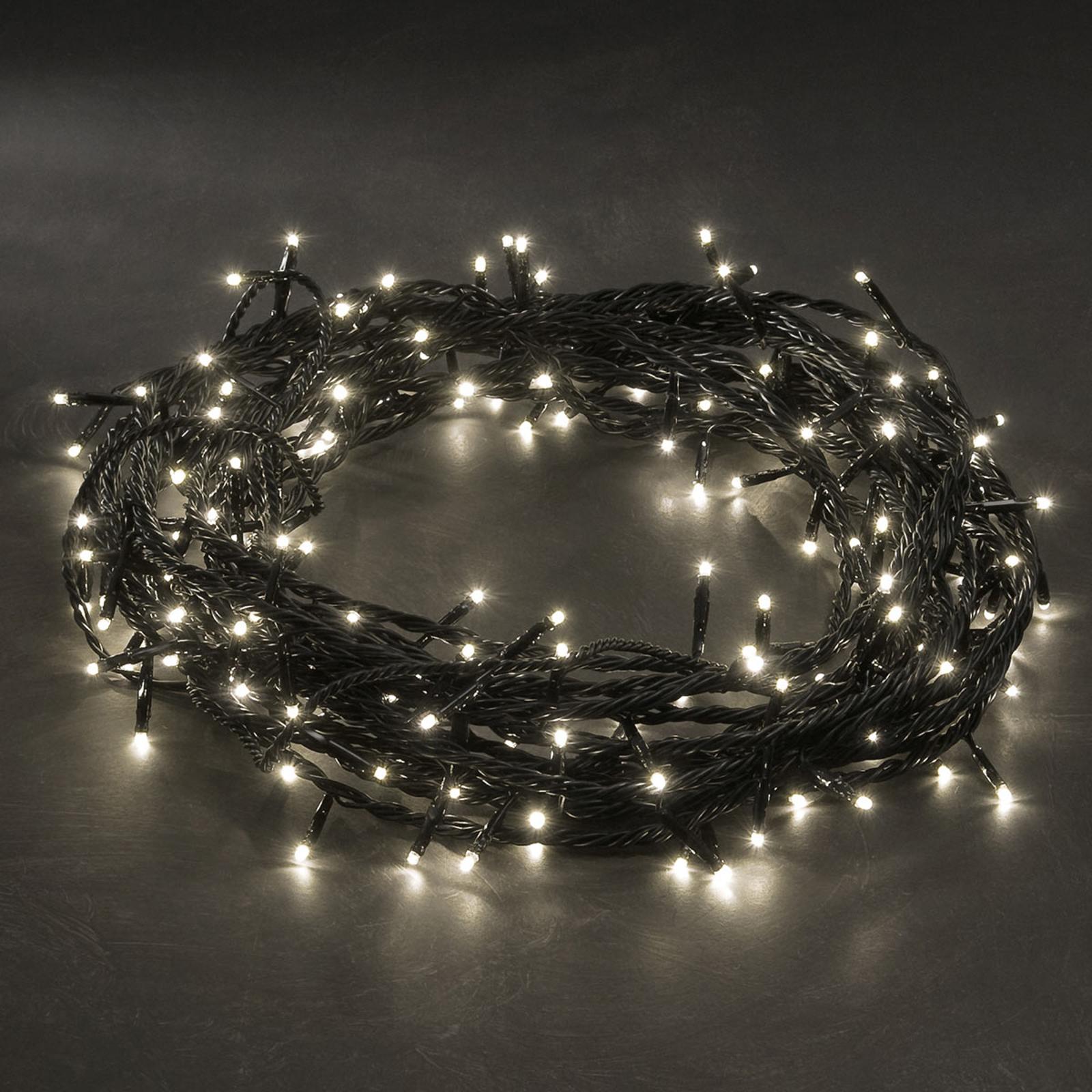 LED-Microlichterkette warmweiß 180-flammig 17,5m