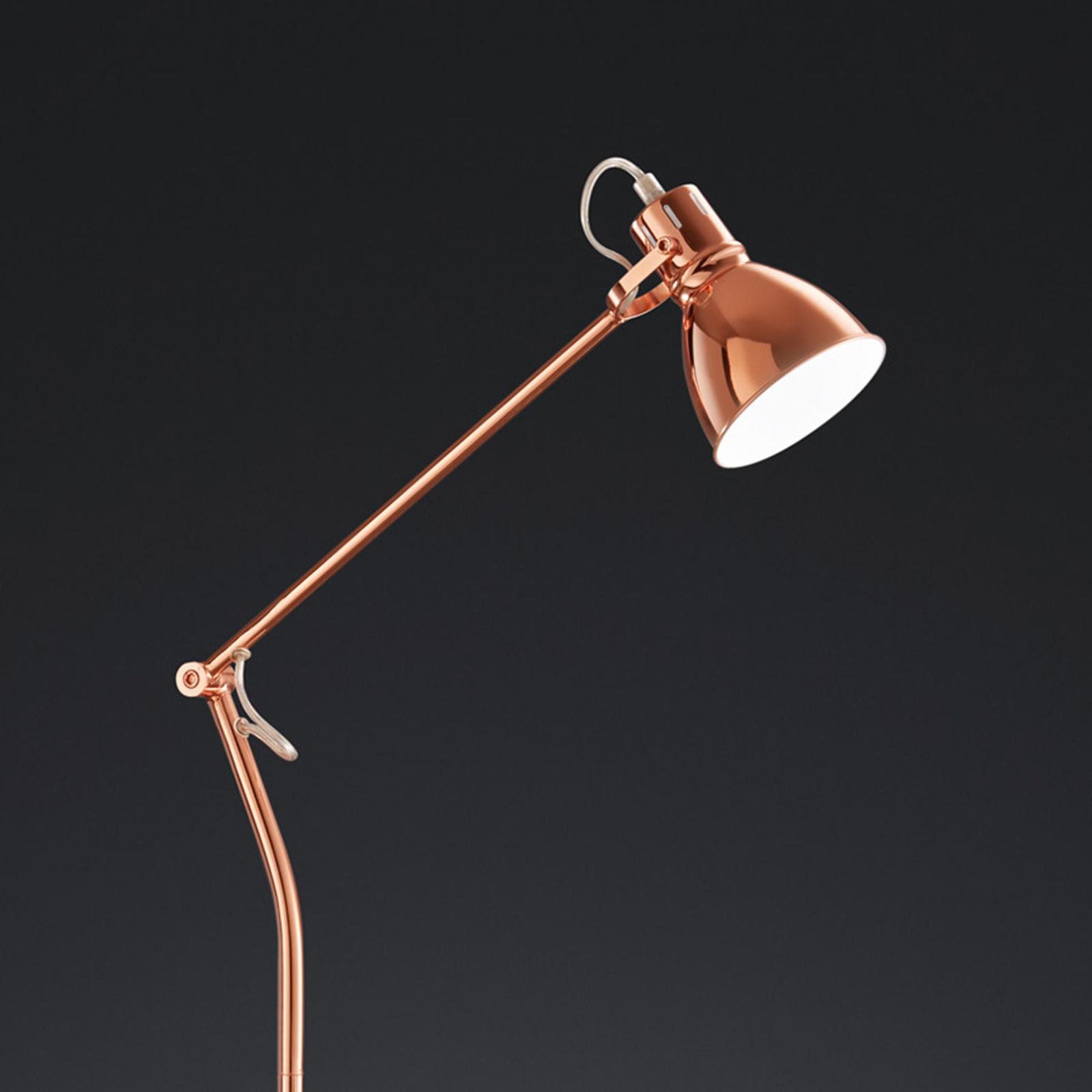 Lampadaire Keali couleur cuivre