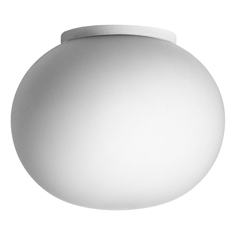 Vegglampe Mini Glo-Ball C/W