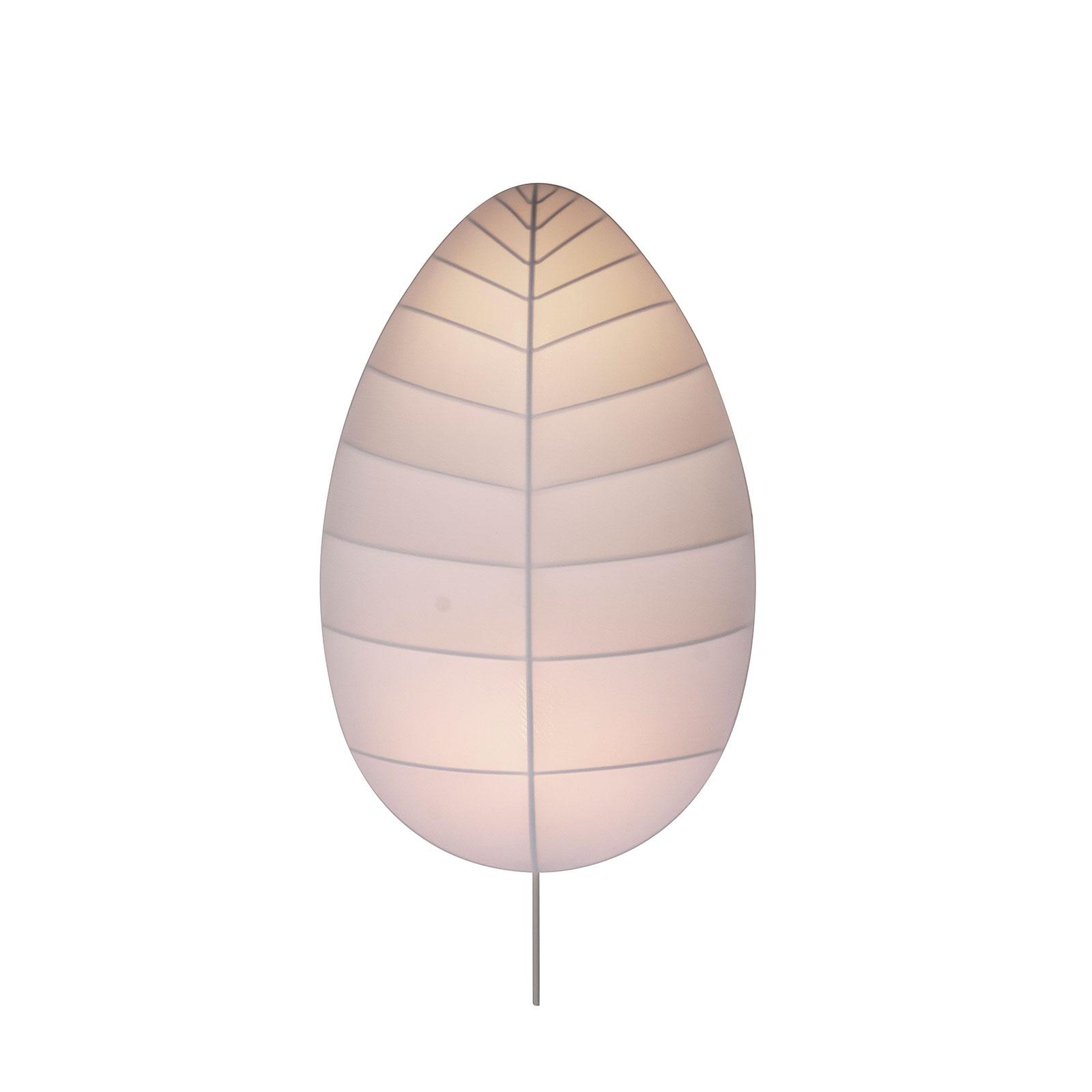 Karman wandlamp Adamo van kunststofvezel