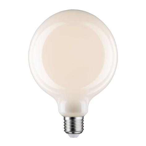 LED-Globelampe E27 6W G125 Fil 2.700K opal dimmbar