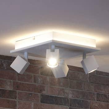 LED-Deckenlampe Cuba - direkt/indirekt strahlend
