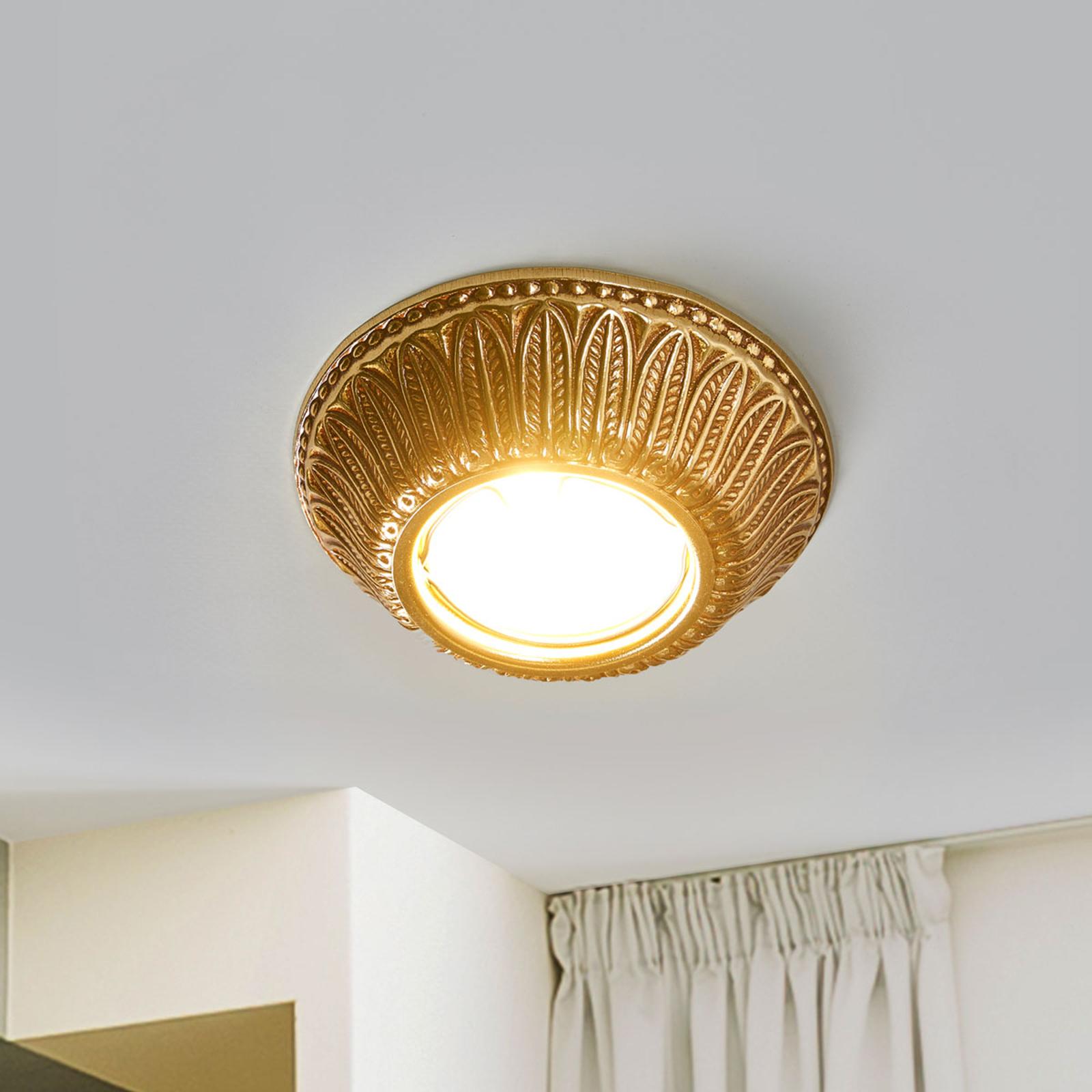 LED-downlight Liberty - finish i English Patina