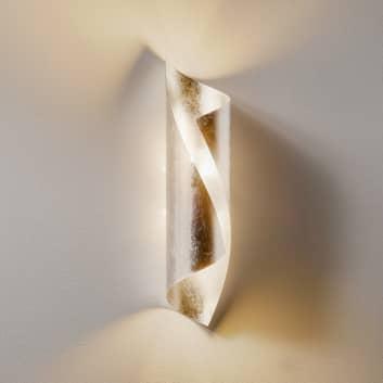 Knikerboker Hué nástěnné světlo 37cm postříbřené