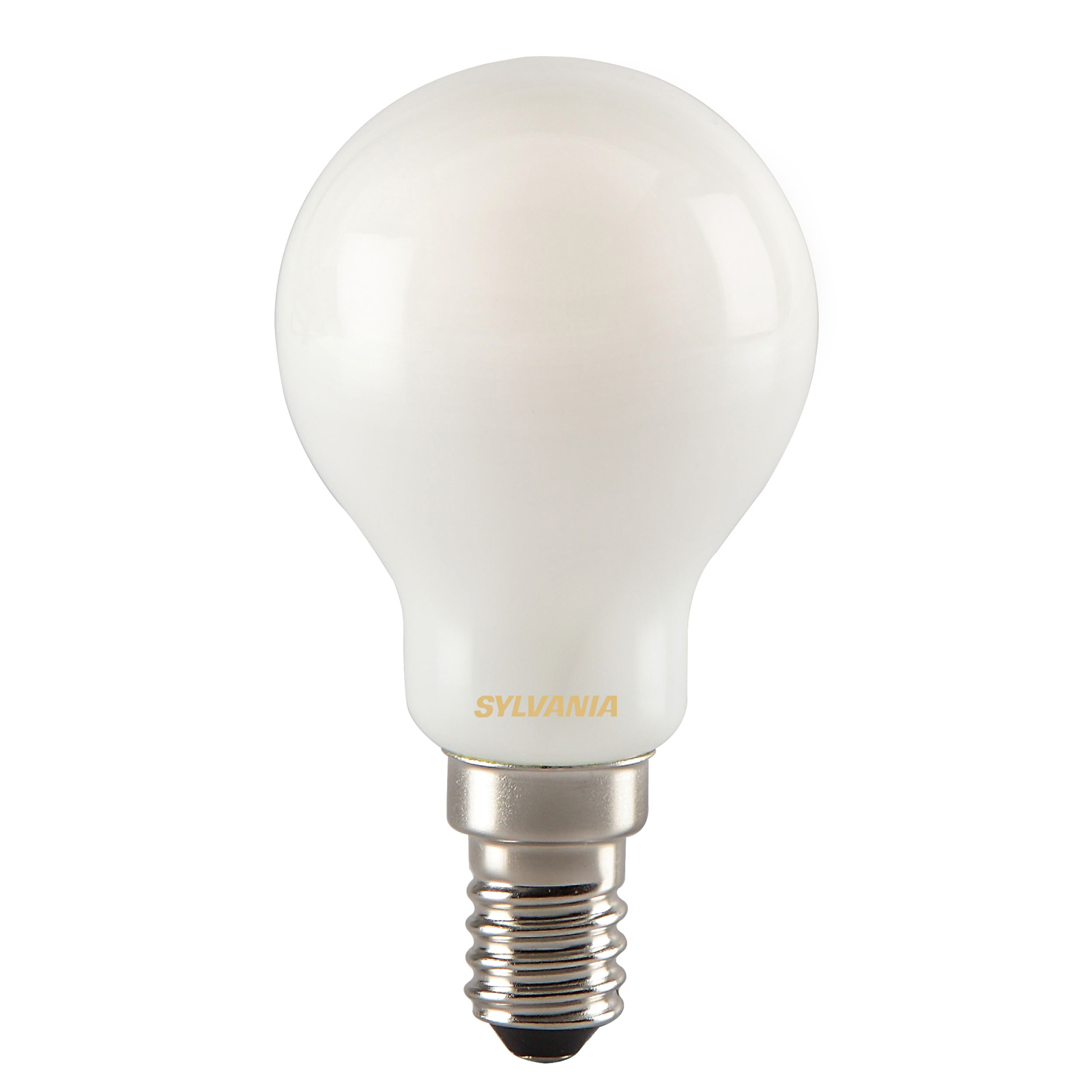 LED-Tropfenlampe E14 ToLEDo RT Ball 4,5W 827 satin