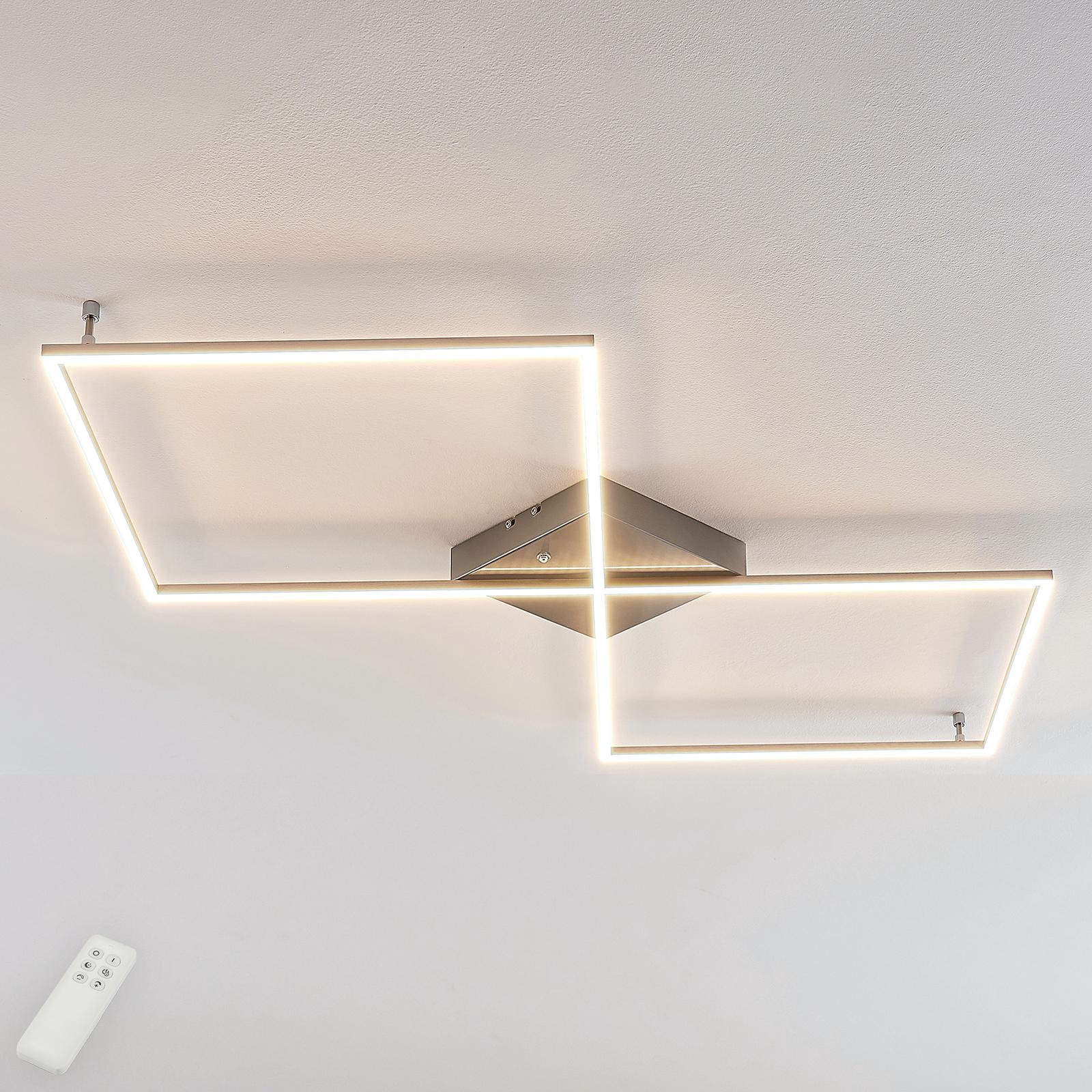 Geradlinige LED-Deckenlampe Romee m. Fernbedienung