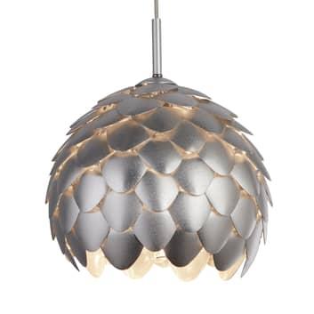 Lámpara colgante Artichoke, plateada