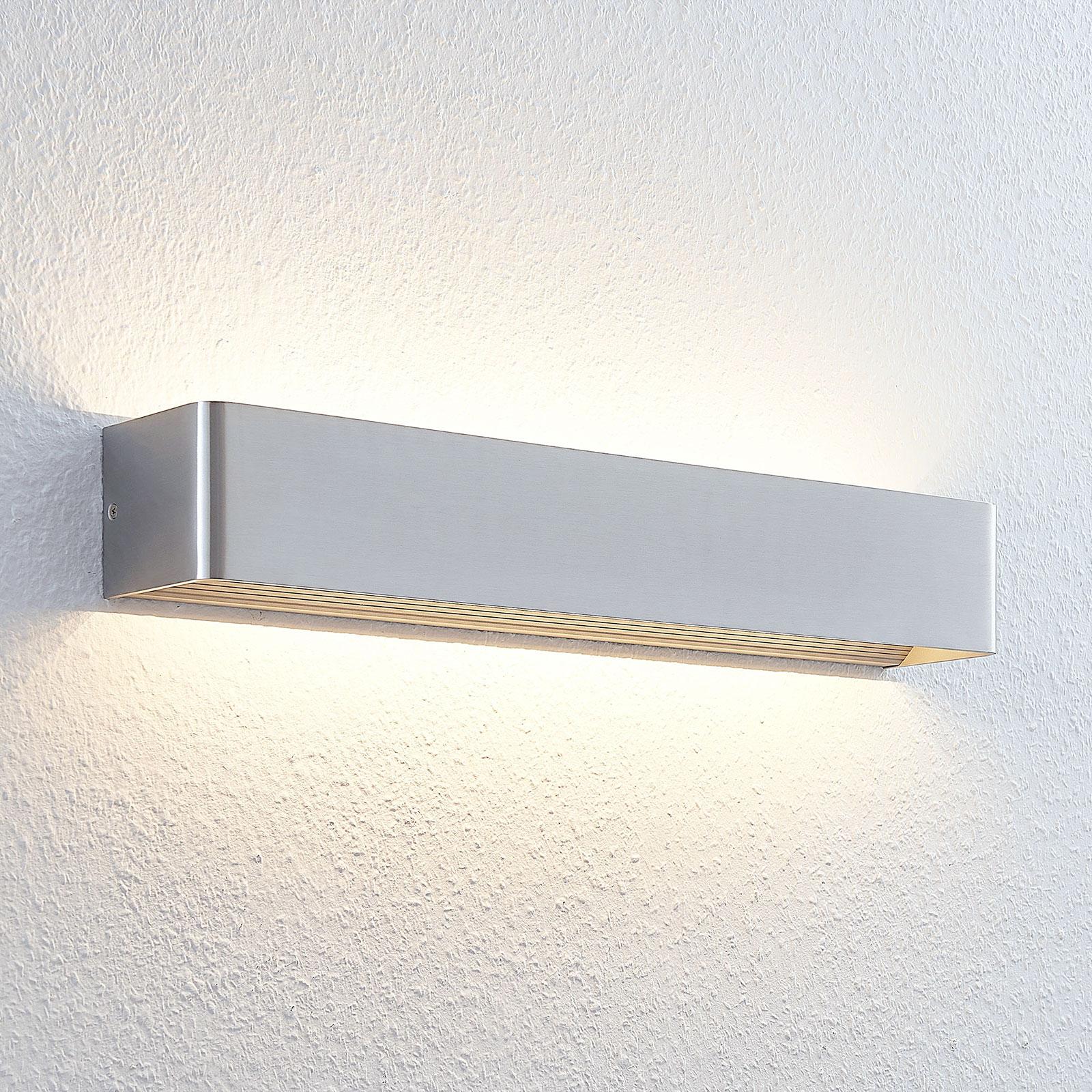 LED-Wandleuchte Lonisa, nickel, 53 cm
