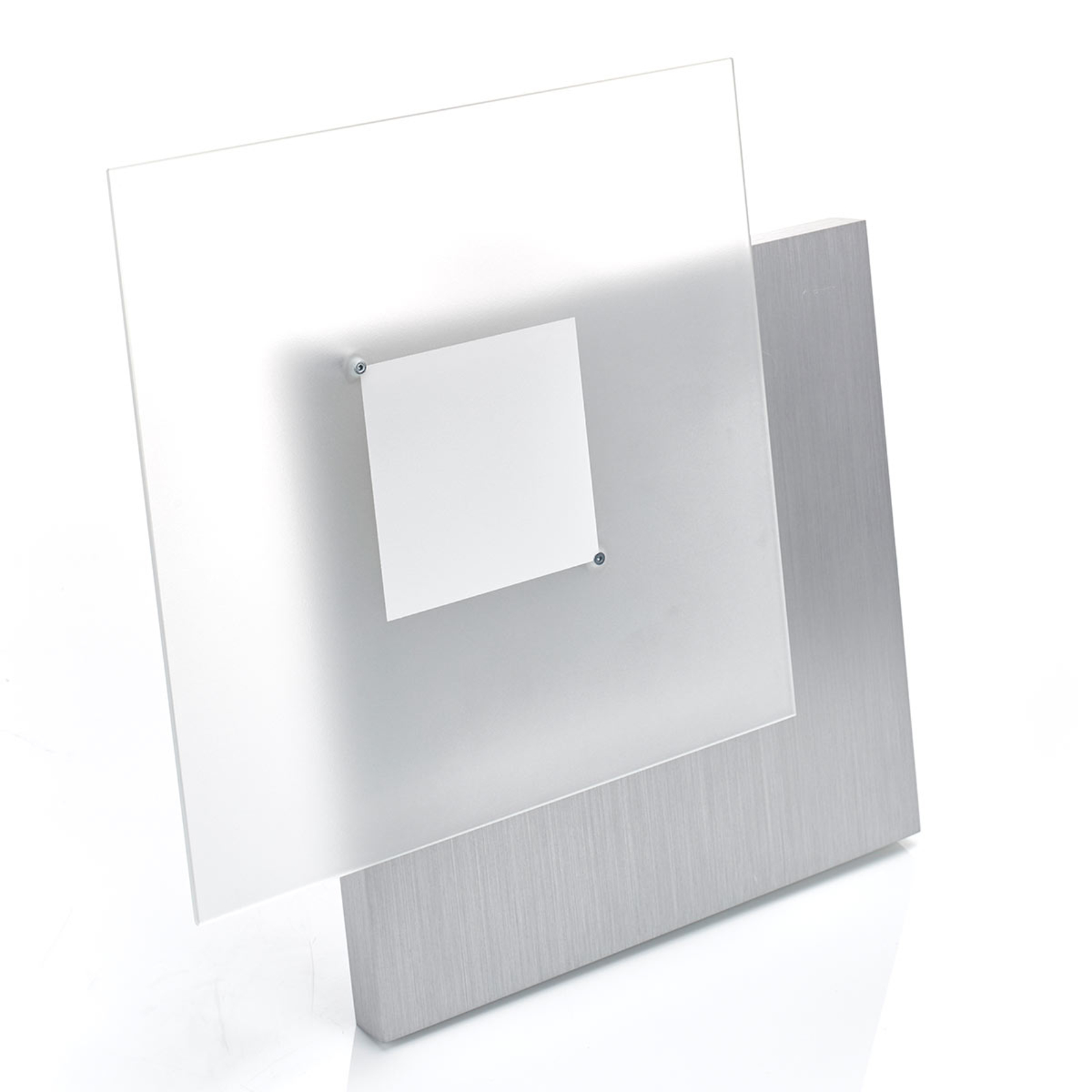 Plafonnier LED insolite Flat à intensité variable