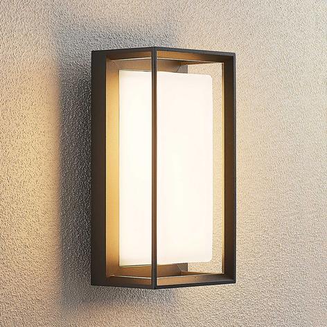 Lucande Ronida aplique LED de exterior, angular