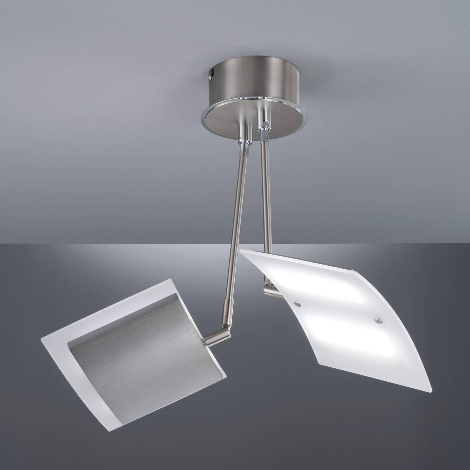 Lampa sufitowa LED Tours, z pilotem