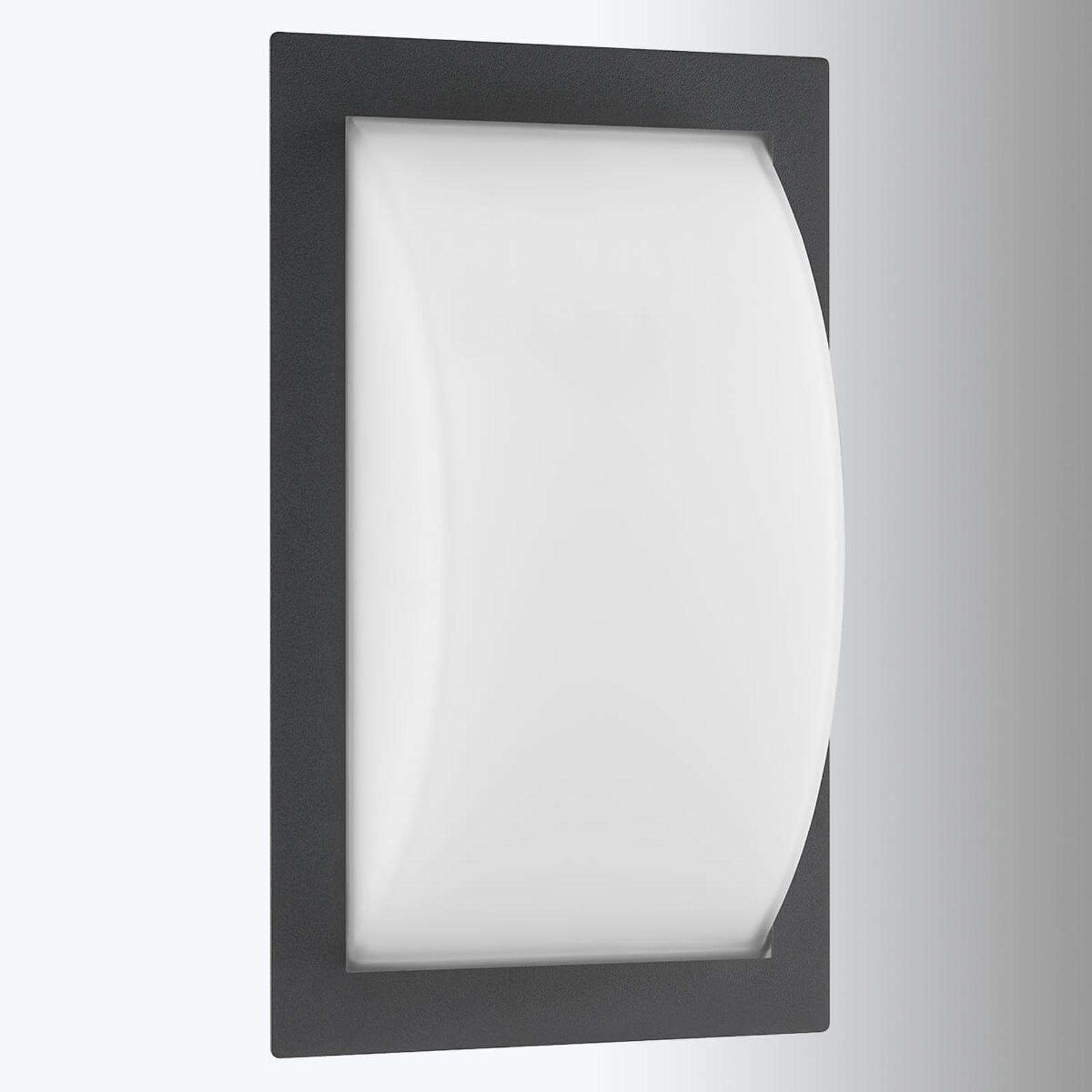 LED buitenwandlamp Ivett in grafiet