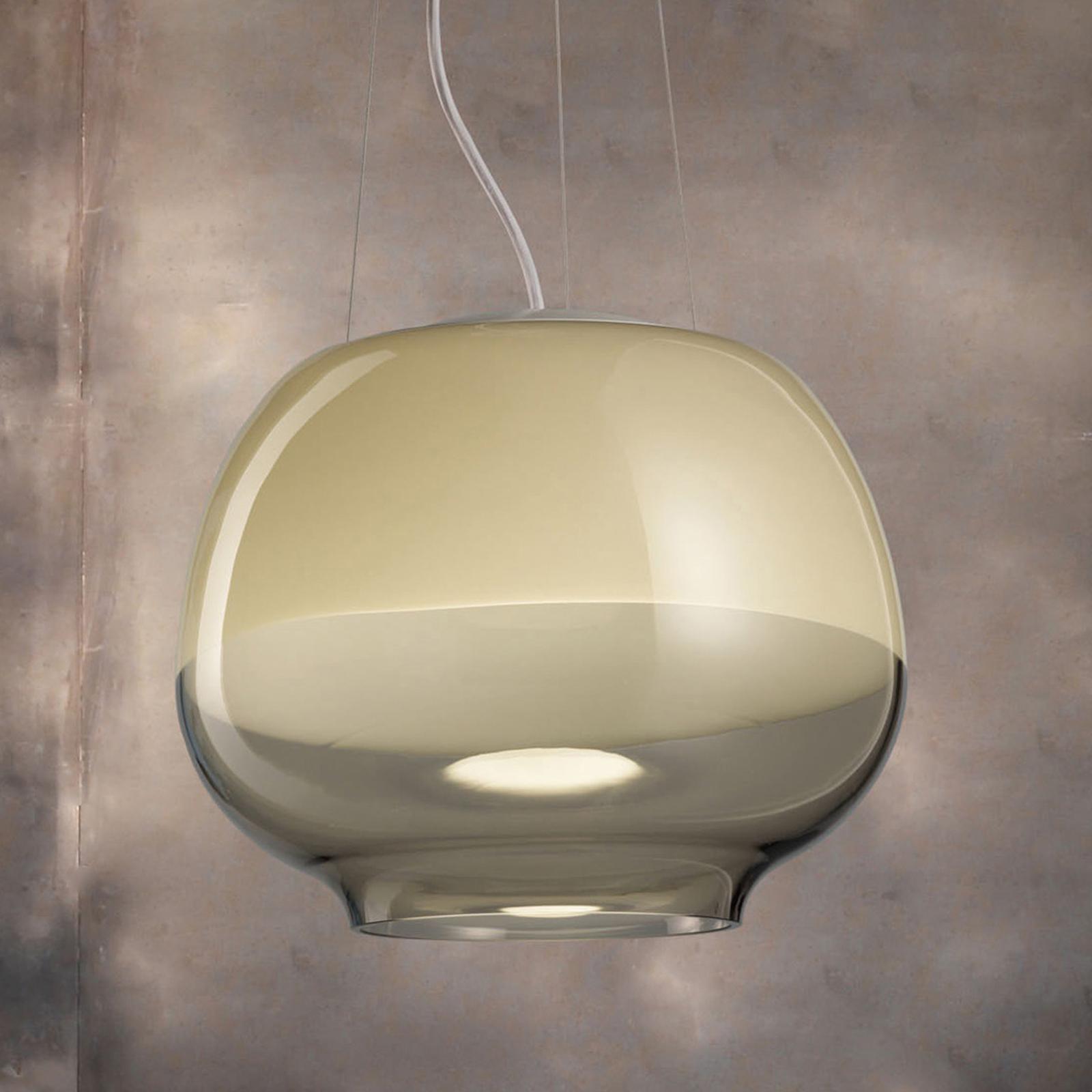Lampa wisząca Mirage SP, dymna