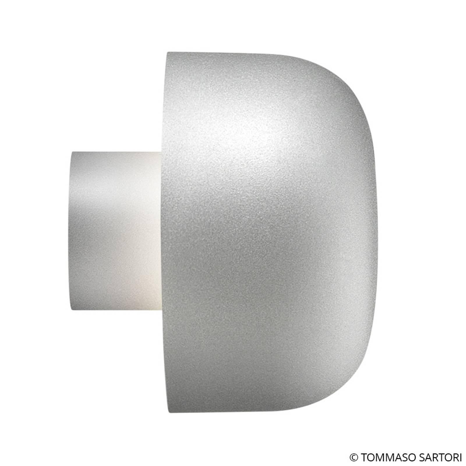 FLOS Bellhop Außenwandleuchte, 2.700 K, grau