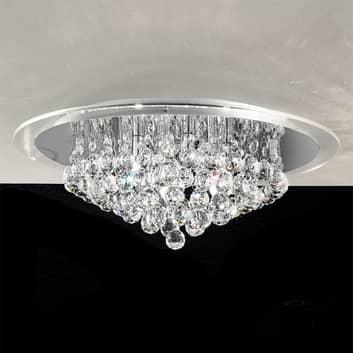 Vacker taklampa med kristaller DESPINA